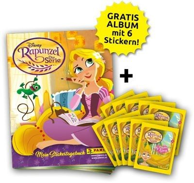 Disney - Rapunzel - Stickerkollektion - Bundle 1