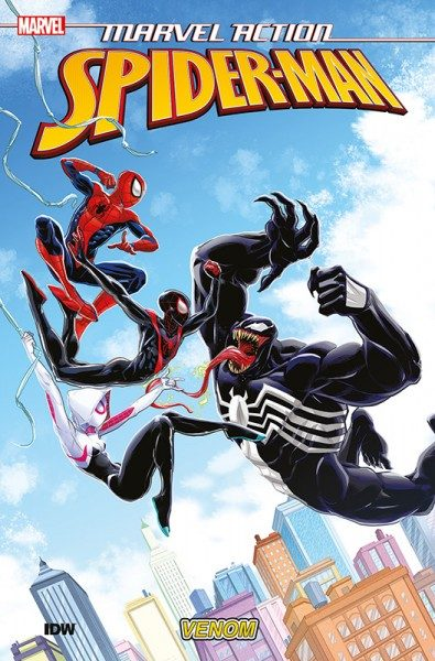 Marvel Action- Spider-Man 4 Cover