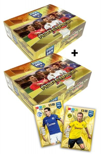 Panini FIFA 365 Adrenalyn XL 2020 Kollektion – Starter-Bundle 3