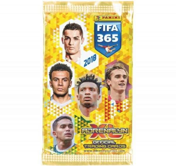 Panini FIFA 365 2018 Adrenalyn XL Trading Cards - Tüte