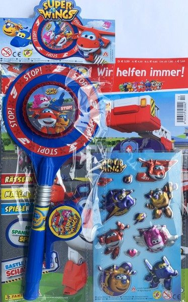 Super Wings Magazin 04/20 Packshot mit Extra