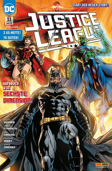 Justice League 11 Cover